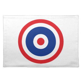 Thai Flag Roundel Target Placemat