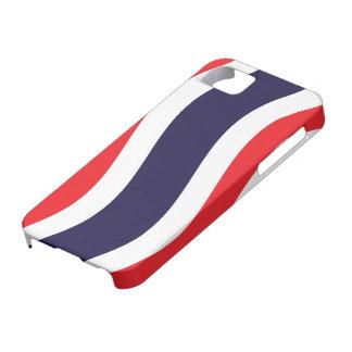 Thai Flag Wave iPhone SE/5/5s Case