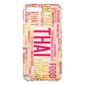 Thai Food and Cuisine Menu Background iPhone 8 Plus/7 Plus Case