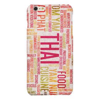 Thai Food and Cuisine Menu Background Matte iPhone 6 Plus Case