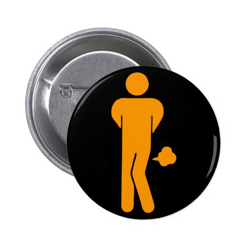 THAI FOOD CAN BE SPICY ⚠ Funny Sign : Restrooms ⚠ 2 Inch Round Button