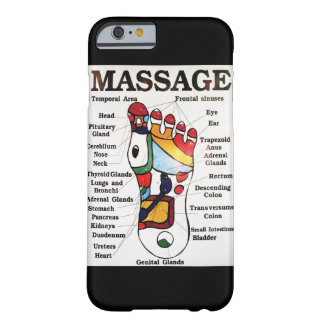 Thai Foot Massage ~ Reflexology map Barely There iPhone 6 Case