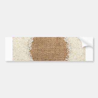 Thai fragrant jasmine rice bumper sticker