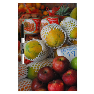 Thai Fruit Dry-Erase Board