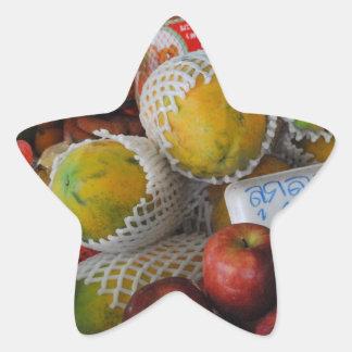 Thai Fruit Star Sticker