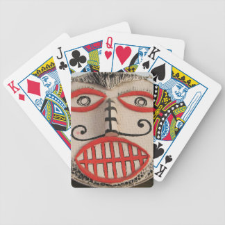 Thai Ghost Face, Phi Ta Khon Mask Festival, Loei Bicycle Playing Cards