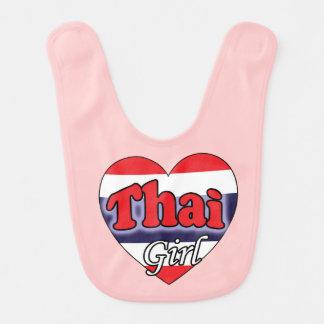 Thai Girl Baby Bib