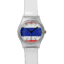 Thai glossy flag watch