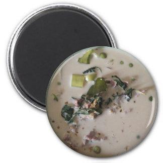 Thai Green Curry [แกงเขียวหวาน] ... Asian Food Magnet