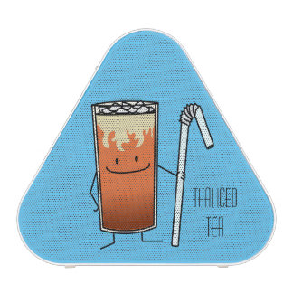Thai Iced Tea & Bendy Straw - Happy Drink Thailand Speaker
