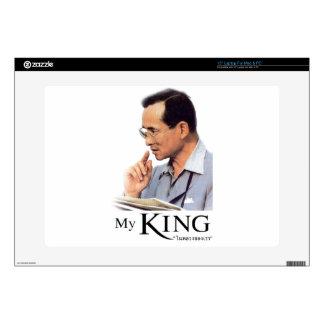 Thai King Bhumibol Adulyadej - ภูมิพลอดุลยเดช Laptop Decals