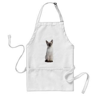 Thai kitten adult apron