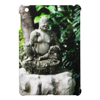 Thai Laughing Buddha in Garden iPad Mini Cases