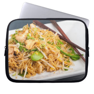 Thai Lo Mein Noodle Stir Fry Computer Sleeve