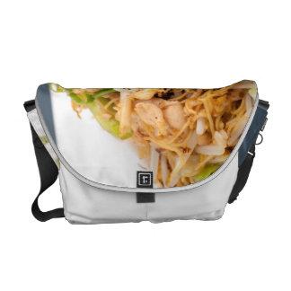 Thai Lo Mein Noodle Stir Fry Messenger Bag