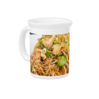 Thai Lo Mein Noodle Stir Fry Beverage Pitcher