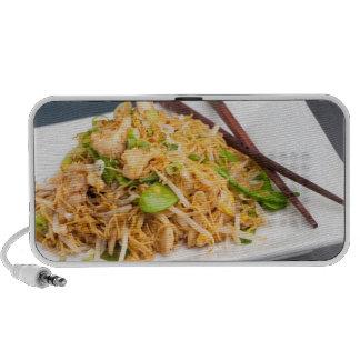 Thai Lo Mein Noodle Stir Fry Laptop Speakers