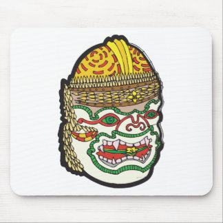 Thai Mask Mouse Pads
