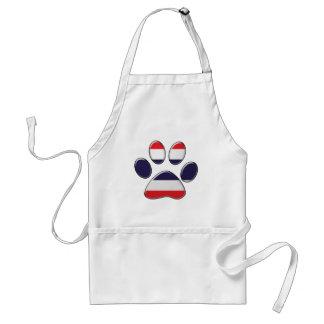 Thai patriotic cat adult apron