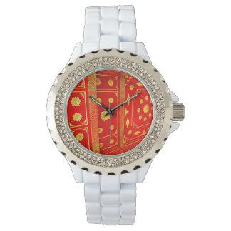 Thai Pavillion Ceiling Wristwatch