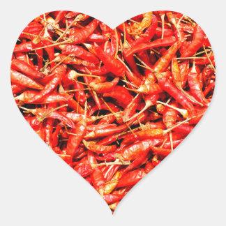 Thai peppers heart sticker