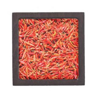 Thai peppers jewelry box