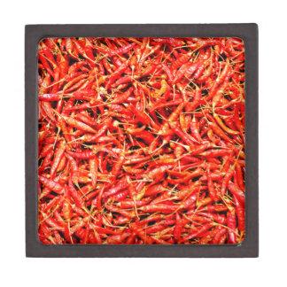 Thai peppers keepsake box