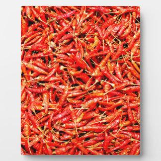 Thai peppers plaque