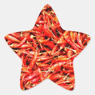 Thai peppers star sticker