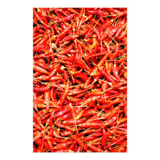 Thai peppers stationery