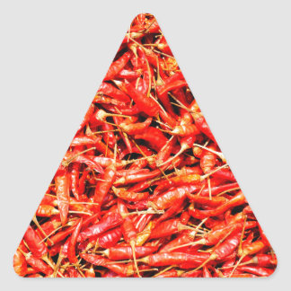 Thai peppers triangle sticker