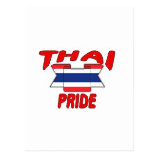 Thai pride postcard