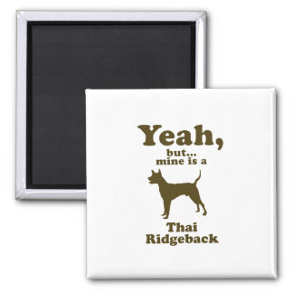 Thai Ridgeback 2 Inch Square Magnet