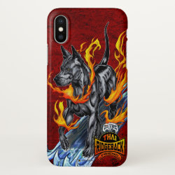 iPhone X Case with Thai Ridgeback Phone Cases design