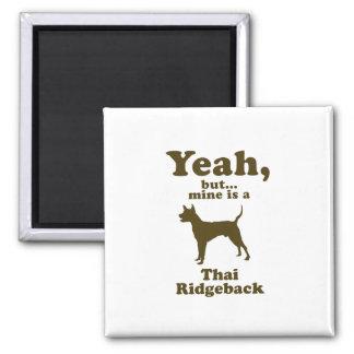 Thai Ridgeback Refrigerator Magnets