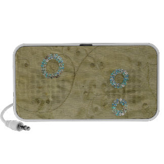 Thai Sequins (PRINT ONLY, NOT REAL) iPod Speakers
