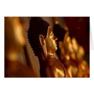 Thai Temple Buddha Statues Photo Cards