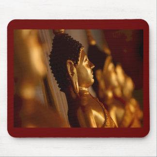 Thai Temple Buddha Statues Photo Mousepads