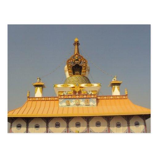 Thai Temple Lumbini Nepal Post Cards