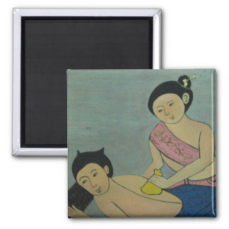 Thai Traditional Massage Magnet