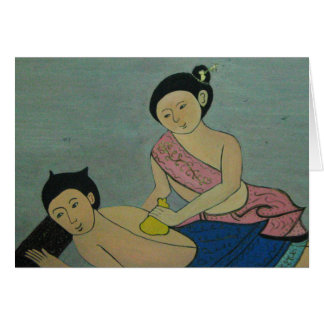 Thai Traditional Massage, Thaïlande Card