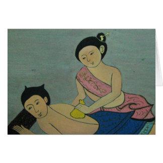 Thai Traditional Massage, Thaïlande Card