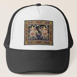 Thai Warriors Burmese Tapestry Hat