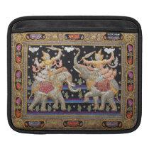 Thai Warriors Burmese Tapestry iPad Sleeve