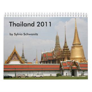 Thailand 2011 calendar