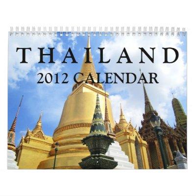 Thailand 2012 Calendar