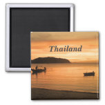 Thailand 2 Inch Square Magnet