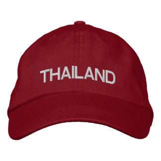 Thailand* Adjustable Hat Embroidered Baseball Caps