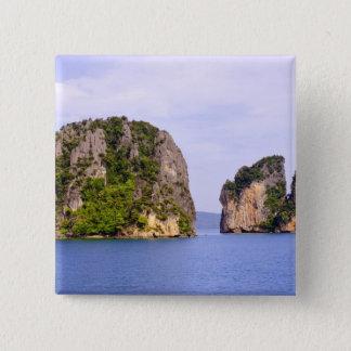 Thailand, Andaman Sea. Ao Phang Nga Islands in 2 Button