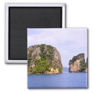 Thailand, Andaman Sea. Ao Phang Nga Islands in 2 Magnet